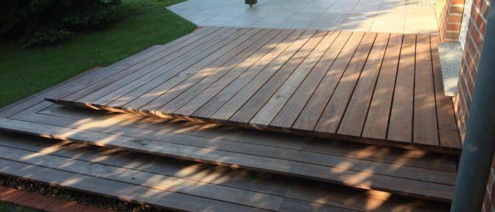 Terrassengestaltung mit Holz, Dirk Prothmann Garten- und Landschaftsbau, Hille