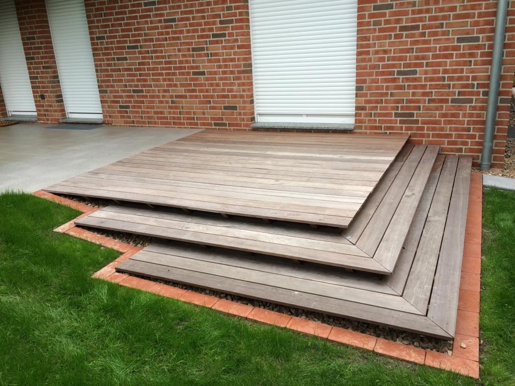 garten und landschaftsbau dirk prothmann terrassengestaltung mit holz garten und. Black Bedroom Furniture Sets. Home Design Ideas