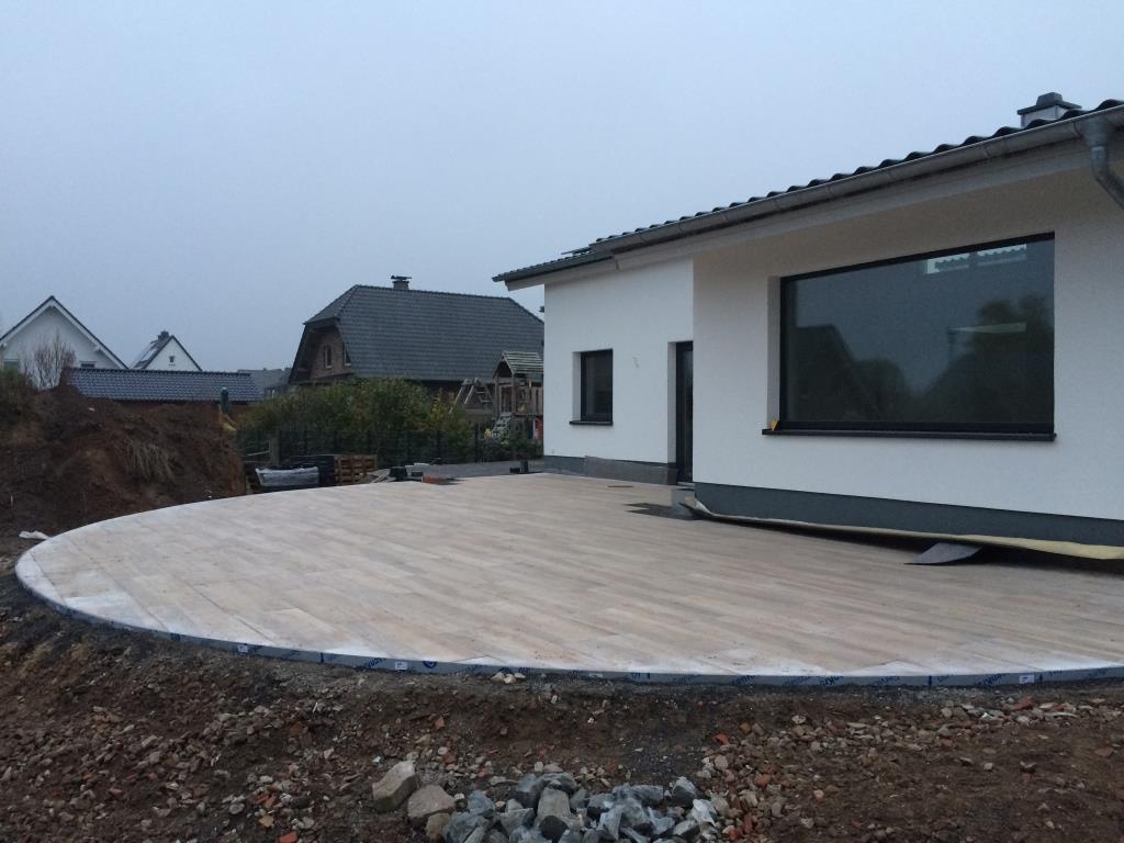 Garten  und Landschaftsbau Dirk Prothmann Anlegen einer Terrasse ...