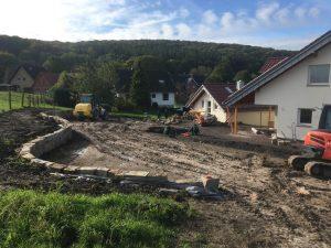 Gartengestaltung am Hang, Dirk Prothmann Garten- und Landschaftsbau, Hille