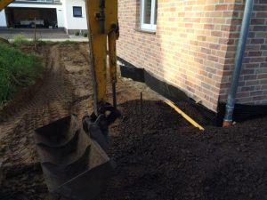 Außenanlage an einem Neubau, Dirk Prothmann Garten- und Landschaftsbau, Hille